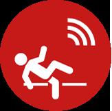 telefono cellulare salvavita funzione rilevamento caduta
