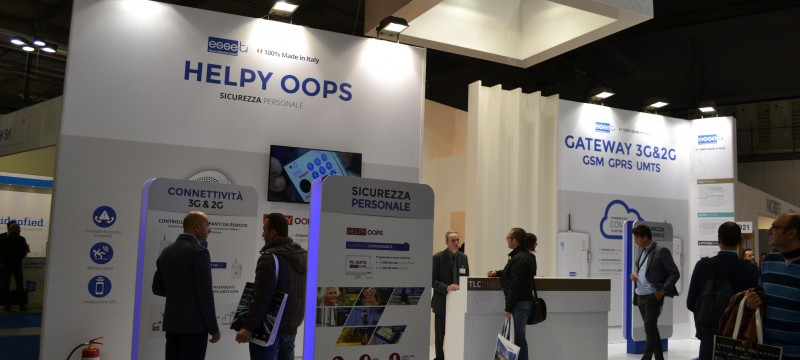 Helpy Oops at SICUREZZA 2015, the trade fair focused on Security
