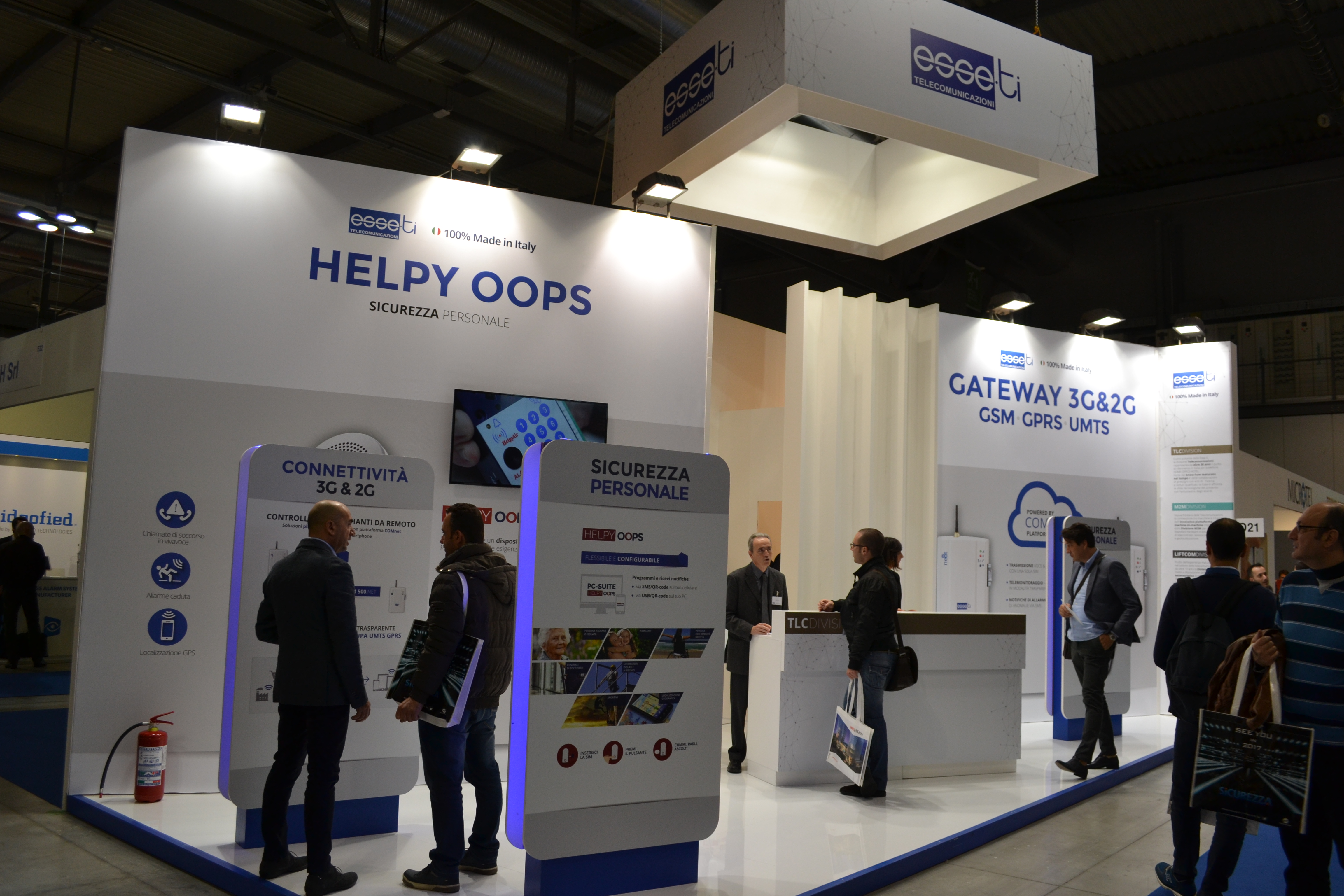 Helpy Oops Esse-Ti at sicurezza 2015 fair trade
