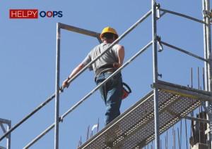 telesoccorso uomo a terra lavoratore isolato Helpy oops
