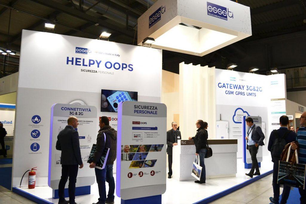 helpy oops a fiera sicurezza milano - telesoccorso dispositivo di protezione e allarme