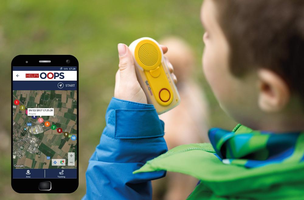 rilevatore satellitare e localizzatore GPS