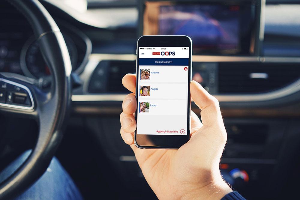 funzione autotest SMS - Dispositivo di Telesoccorso Helpy Oops